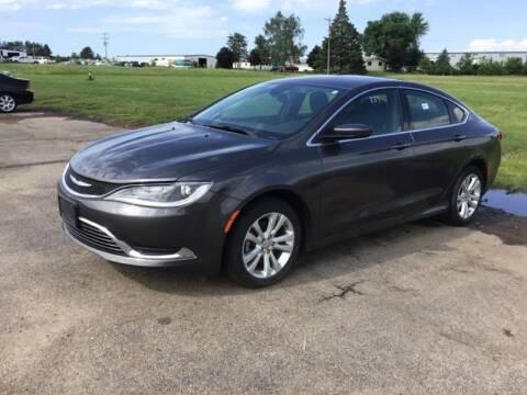 2015 Chrysler 200 for sale at Al's Auto Inc. in Bruce Crossing MI