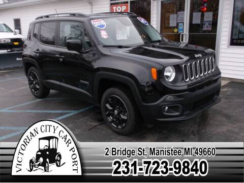 2016 Jeep Renegade for sale at Victorian City Car Port INC in Manistee MI
