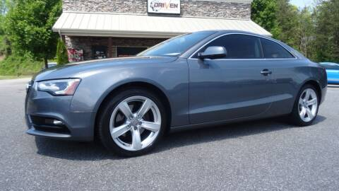 2013 Audi A5 for sale at Driven Pre-Owned in Lenoir NC