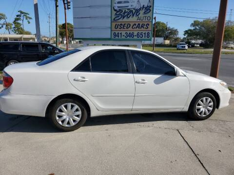 2005 Toyota Camry for sale at Steve's Auto Sales in Sarasota FL