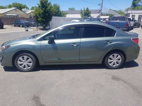 2016 Subaru Impreza for sale at Freds Auto Sales LLC in Carson City NV