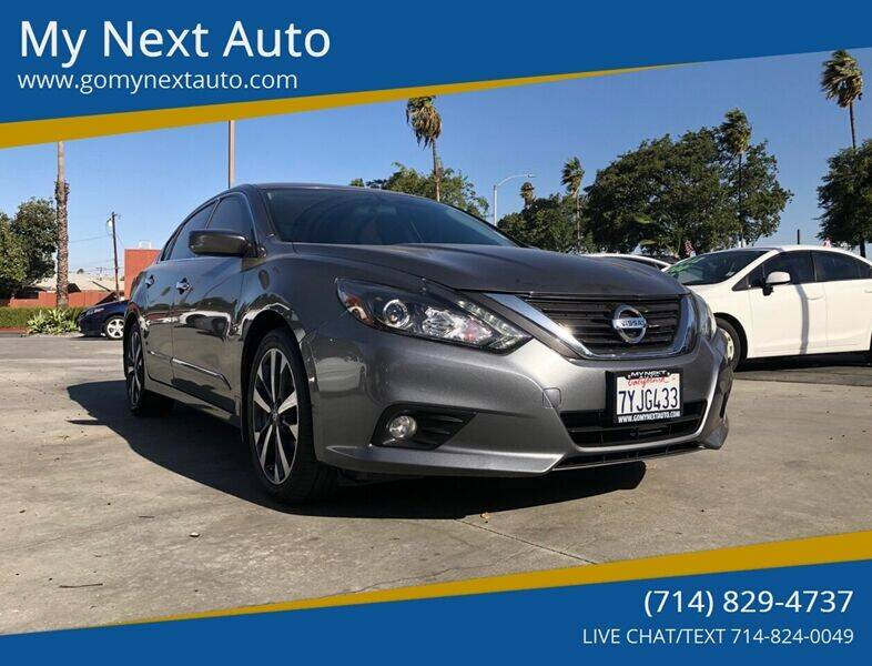 2017 Nissan Altima for sale at My Next Auto in Anaheim CA
