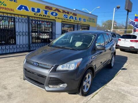 2014 Ford Escape for sale at Sam's Auto Sales in Houston TX