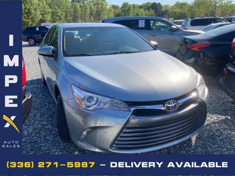 2017 Toyota Camry for sale at Impex Auto Sales in Greensboro NC