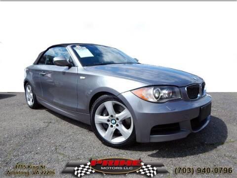2010 BMW 1 Series for sale at PRIME MOTORS LLC in Arlington VA