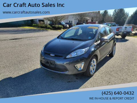 2011 Ford Fiesta for sale at Car Craft Auto Sales Inc in Lynnwood WA