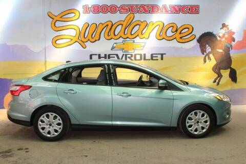 2012 Ford Focus for sale at Sundance Chevrolet in Grand Ledge MI