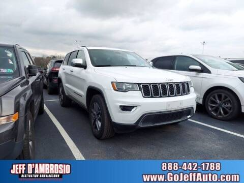 2017 Jeep Grand Cherokee for sale at Jeff D'Ambrosio Auto Group in Downingtown PA