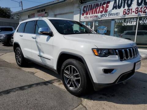 2017 Jeep Grand Cherokee for sale at Sunrise Auto Outlet in Amityville NY
