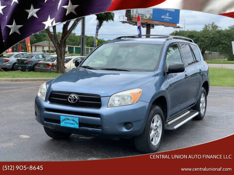 2007 Toyota RAV4 for sale at Central Union Auto Finance LLC in Austin TX