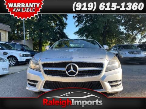 2012 Mercedes-Benz CLS for sale at Raleigh Imports in Raleigh NC