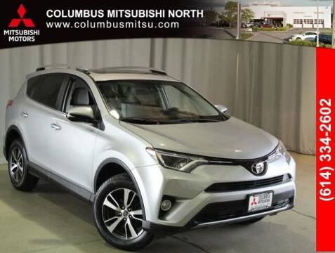 2017 Toyota RAV4 for sale at Auto Center of Columbus - Columbus Mitsubishi North in Columbus OH