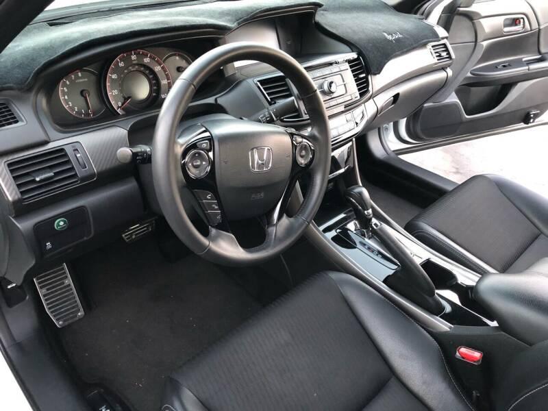 2017 Honda Accord Sport 4dr Sedan CVT - El Cerrito CA
