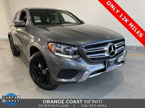 2018 Mercedes-Benz GLC for sale at ORANGE COAST CARS in Westminster CA