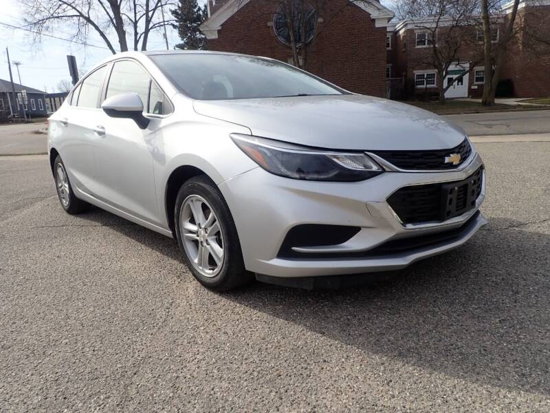 2018 Chevrolet Cruze for sale at Marvel Automotive Inc. in Big Rapids MI