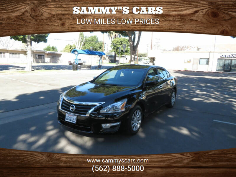 "2014 Nissan Altima for sale at SAMMY""S CARS in Bellflower CA"