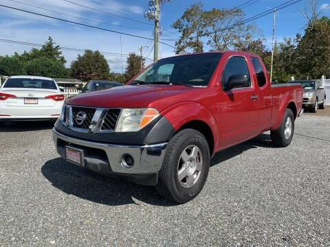 2006 Nissan Frontier for sale at Century Motor Cars in West Creek NJ
