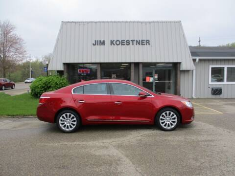 2013 Buick LaCrosse for sale at JIM KOESTNER INC in Plainwell MI