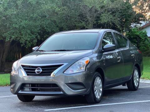 2019 Nissan Versa for sale at Auto Direct of South Broward in Miramar FL