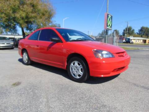 2002 Honda Civic for sale at Ratchet Motorsports in Gibsonton FL