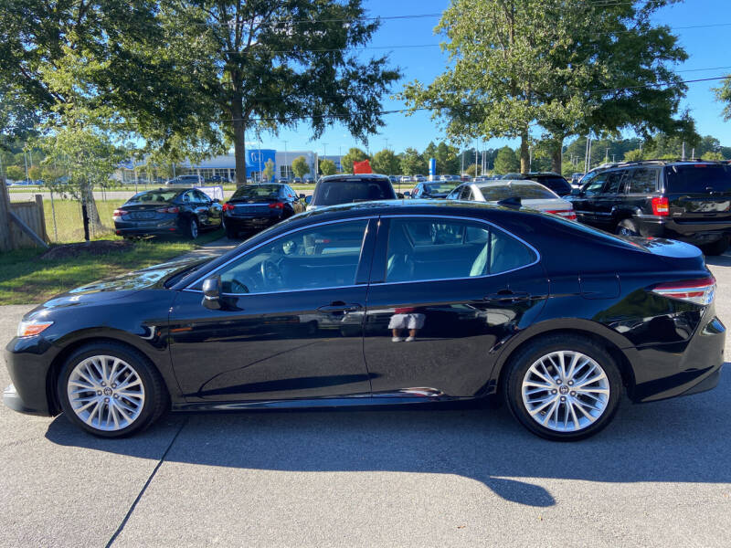 2018 Toyota Camry for sale at Econo Auto Sales Inc in Raleigh NC