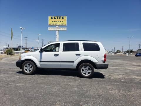 2008 Dodge Durango for sale at ELITE MOTORS in Victorville CA