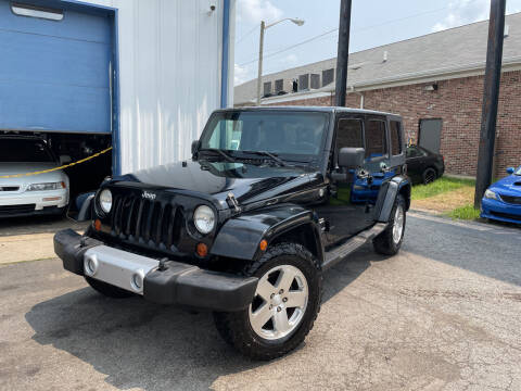 2008 Jeep Wrangler Unlimited for sale at Pulse Autos Inc in Indianapolis IN