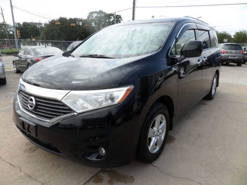 2013 Nissan Quest for sale at West End Motors Inc in Houston TX