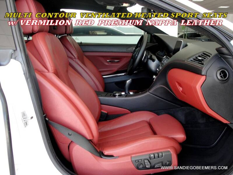 2016 BMW 6 Series for sale at SAN DIEGO BEEMERS in San Diego CA