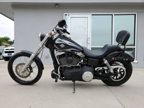 2013 Harley-Davidson FXDWG Dyna Wide Glide for sale at Kell Auto Sales, Inc in Wichita Falls TX