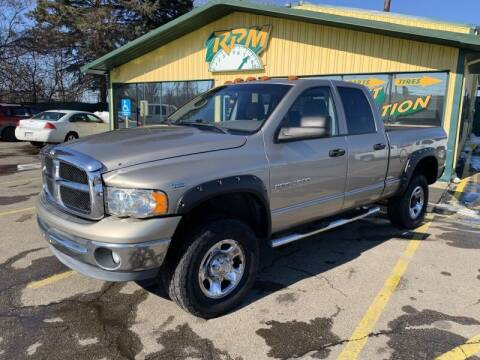 2004 Dodge Ram Pickup 2500 for sale at RPM AUTO SALES in Lansing MI