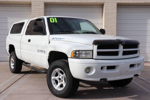 2001 Dodge Ram Pickup 1500 for sale at MG Motors in Tucson AZ