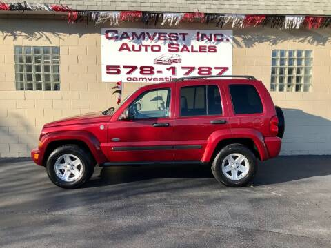 2007 Jeep Liberty for sale at Camvest Inc. Auto Sales in Depew NY