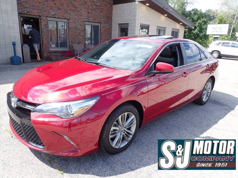 2017 Toyota Camry for sale at S & J Motor Co Inc. in Merrimack NH