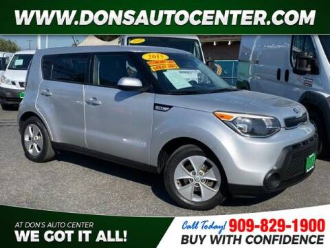 2015 Kia Soul for sale at Dons Auto Center in Fontana CA