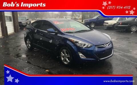 2016 Hyundai Elantra for sale at Bob's Imports in Clinton IL