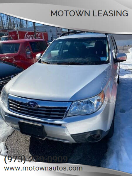 2010 Subaru Forester for sale at Motown Leasing in Morristown NJ
