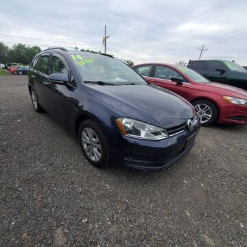 2017 Volkswagen Golf SportWagen for sale at ALL WHEELS DRIVEN in Wellsboro PA