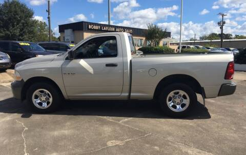 2009 Dodge Ram Pickup 1500 for sale at Bobby Lafleur Auto Sales in Lake Charles LA