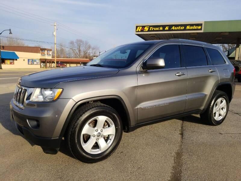 2012 Jeep Grand Cherokee for sale at R & S TRUCK & AUTO SALES in Vinita OK
