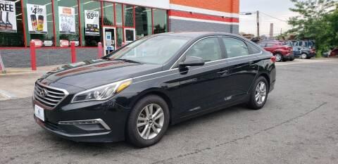 2015 Hyundai Sonata for sale at JOANKA AUTO SALES in Newark NJ