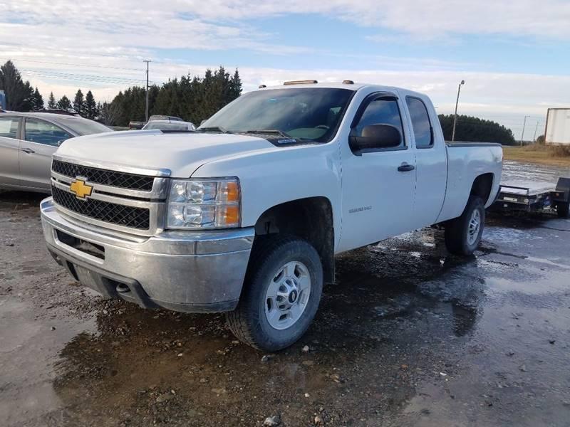 2013 Chevrolet Silverado 2500HD for sale at Jeff's Sales & Service in Presque Isle ME