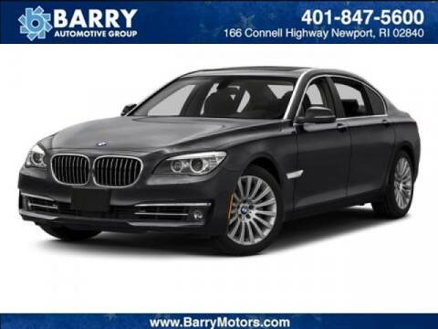 2015 BMW 7 Series for sale at BARRYS Auto Group Inc in Newport RI