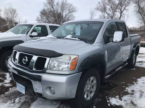 2004 Nissan Titan for sale at BARNES AUTO SALES in Mandan ND