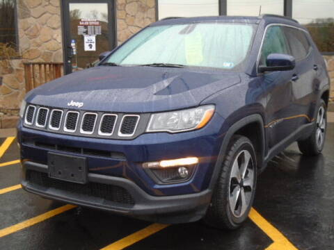 2017 Jeep Compass for sale at Rogos Auto Sales in Brockway PA