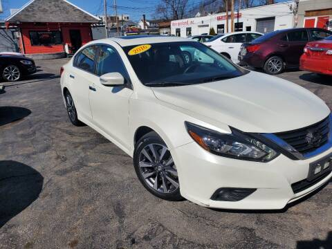 2016 Nissan Altima for sale at Mass Auto Exchange in Framingham MA
