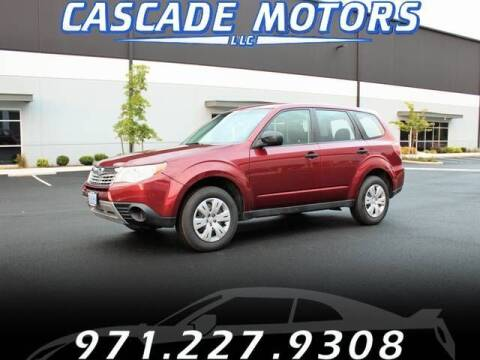 2009 Subaru Forester for sale at Cascade Motors in Portland OR