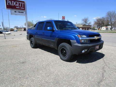 2003 Chevrolet Avalanche for sale at Padgett Auto Sales in Aberdeen SD