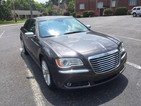 2013 Chrysler 300 for sale at DEALS ON WHEELS in Moulton AL