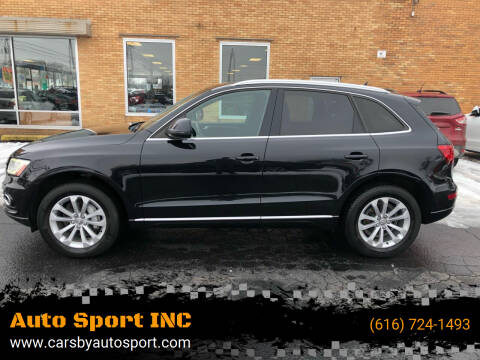 2013 Audi Q5 for sale at Auto Sport INC in Grand Rapids MI